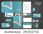 color corporate identity... | Shutterstock .eps vector #291522710
