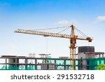 Building Crane And Constructio...