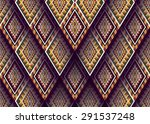 geometric ethnic pattern design ... | Shutterstock .eps vector #291537248