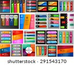colorful modern text box... | Shutterstock .eps vector #291543170