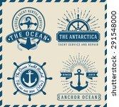 nautical  navigational ... | Shutterstock .eps vector #291548000
