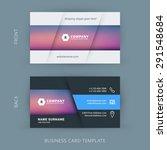 vector modern creative and... | Shutterstock .eps vector #291548684