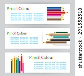 design labels with colored... | Shutterstock .eps vector #291552518