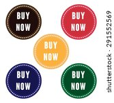buy now tag. buy now badge.... | Shutterstock .eps vector #291552569
