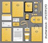corporate identity template set....   Shutterstock .eps vector #291559193