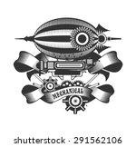 Blimp Style Steam Punk Black...
