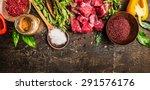 Ingredients For Goulash Or Ste...