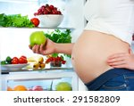 nutrition and diet during... | Shutterstock . vector #291582809