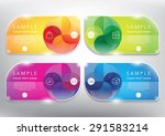 abstract vector banner set. use ...