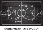 football or soccer game... | Shutterstock .eps vector #291592814