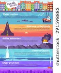 Colorful Vector Travel Banners...