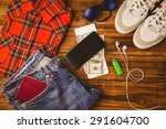 differents objects using every... | Shutterstock . vector #291604700