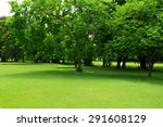 green park and tree | Shutterstock . vector #291608129