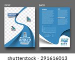 golf tournament front   back... | Shutterstock .eps vector #291616013