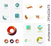 universal abstract geometric... | Shutterstock .eps vector #291622673