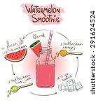 hand drawn sketch illustration... | Shutterstock .eps vector #291624524