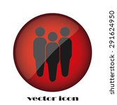 three people | Shutterstock .eps vector #291624950