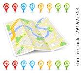 a full vector generic city... | Shutterstock .eps vector #291625754