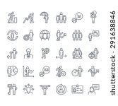 thin line icons set. icons for... | Shutterstock .eps vector #291638846