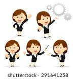 vector illustration of cartoon... | Shutterstock .eps vector #291641258