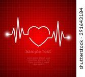 illustration of life line...   Shutterstock .eps vector #291643184