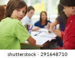 our lessons are really cool | Shutterstock . vector #291648710