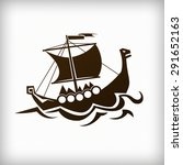 viking ship   Shutterstock . vector #291652163
