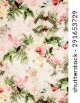 romantic vintage flower... | Shutterstock . vector #291653729