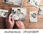 black and white family photos... | Shutterstock . vector #291653849