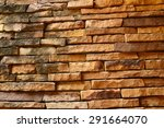 old brick wall in a  bath room | Shutterstock . vector #291664070