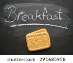 whole grain digestive biscuits | Shutterstock . vector #291685958