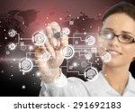 business  organization ... | Shutterstock . vector #291692183