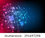 abstract technology concept of