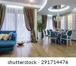 modern apartment dinning room   Shutterstock . vector #291714476