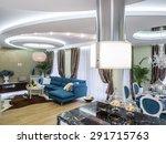 new apartment living room   Shutterstock . vector #291715763