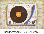 retro styled image of an old... | Shutterstock . vector #291719963