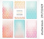 set of six colorful banners... | Shutterstock .eps vector #291722429