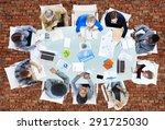 meeting communication planning... | Shutterstock . vector #291725030
