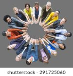 people unity community... | Shutterstock . vector #291725060