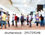 abstract blurred people in... | Shutterstock . vector #291729248