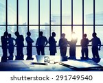 business people conference... | Shutterstock . vector #291749540