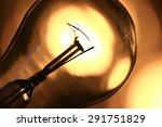 bulb concept electricity | Shutterstock . vector #291751829