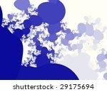 an artistic colored fractal... | Shutterstock . vector #29175694