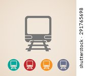 icon of train. metro ...