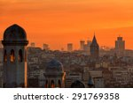 View Of Beyoglu's Region And...
