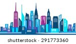 vector design   eps10 building... | Shutterstock .eps vector #291773360