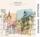 hanover  germany  europe.... | Shutterstock .eps vector #291774566