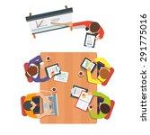 business presentation or... | Shutterstock .eps vector #291775016