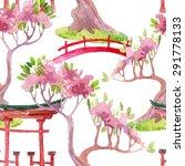 Watercolor Bonsai Tree ...