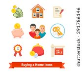 real estate  house mortgage ... | Shutterstock .eps vector #291786146